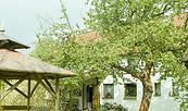 Hof von Siegi's Landhauspension, Foto: Siegrun Stockmann