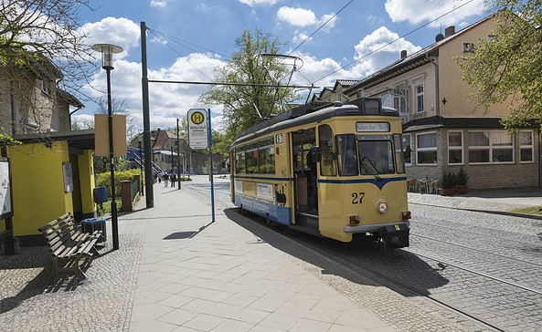 Woltersdorfer Straßenbahn, Foto: TMB-Fotoarchiv/Steffen Lehmann