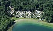 Campingparadies aus der Luft © Campingparadies Berolina am Süßen Winkel