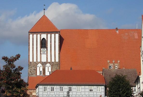 Stadtkirche St. Peter und Paul in Wusterhausen/Dosse, Foto: Elke Schmiele