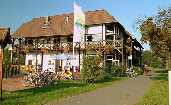 Die Radler-Scheune in Burg (Spreewald)