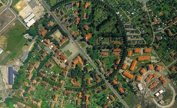 Luftbild Gartenstadt Marga © TMB-Fotoarchiv/ BIG-Städtebau in Brandenburg