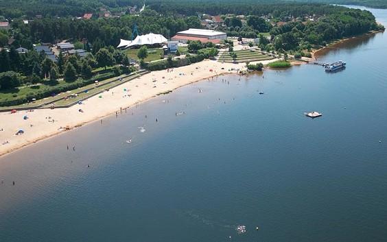 Seestrand Großkoschen - Senftenberger See