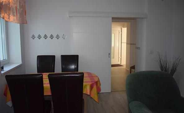Wohnzimmer 1 der Ferienwohnung Will in Eberswalde, Foto: Verena Hecht-Will