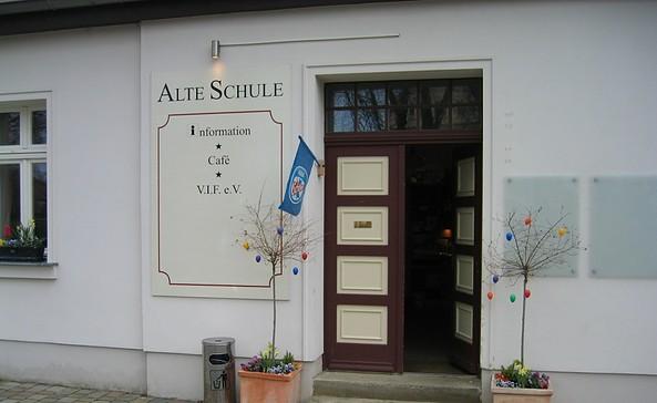 Alte Schule Eingangsbereich