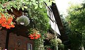 Außenansicht der Ferienwohnung für Naturfreunde in Eichhorst, Foto: Fam. Bahl