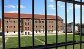 Blick auf den Innenhof des ehemaligen Zuchthauses Cottbus, Foto: Menschenrechtszentrum Cottbus e.V.