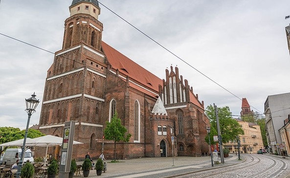 Oberkirche St. Nikolai Cottbus, Foto: TMB-Fotoarchiv/Steffen Lehmann