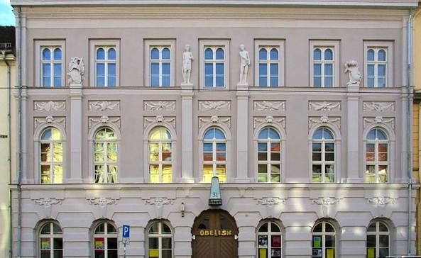 Satire Theater Potsdam - Außenansicht, Foto: Kabarett Obelisk e.V.