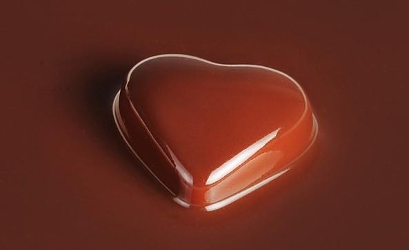 Schokoladenherz © Confiserie Felicitas