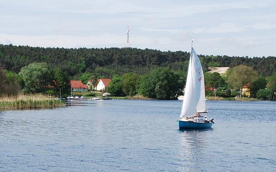 Segeln zwischen Werder (Havel) und Brandenburg an der Havel