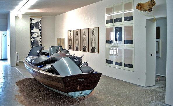 Wolf Kahlen Museum Bernau - Medienkunst, Foto: Wolf Kahlen