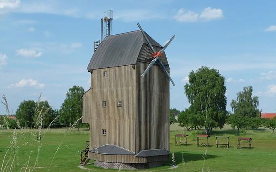 Paltrockwindmühle Oppelhain