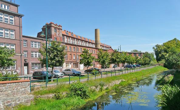 Die Pritzwalker Tuchfabrik, Foto: terra press Berlin