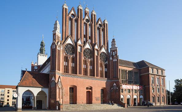 Rathaus in Frankfurt (Oder), Foto: Seenland Oder-Spree/Florian Läufer