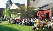 Veranstaltung am Atelierhof Werenzhain, Foto: Atelierhof Werenzhain