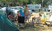 Campingplatz am Großen Mochowsee, Foto: Verband der Campingwirtschaft im Land Brandenburg e.V.