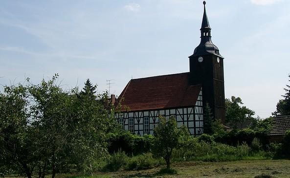 Fachwerkkirche Schlepzig, Foto: TV Spreewald