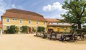 """Historischer Gasthof """"Zum Hirsch"""" in Fürstlich Drehna"""
