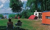 Campingplatz Parsteiner See, Foto: Verband der Campingwirtschaft im Land Brandenburg e.V.