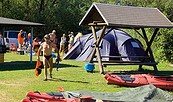 Campingplatz Nord am Neuendorfer See, Foto: Verband der Campingwirtschaft im Land Brandenburg e.V.