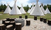 Tropical Islands Camping - Tipis