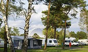 Wohnmobilstellplatz auf dem Tropical Islands Campingplatz © Tropical Island Holding GmbH
