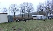 Wohnmobilstellplatz auf dem Campingplatz am Königsberger See