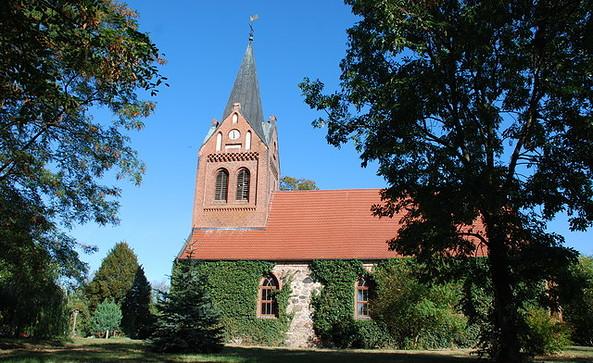 Kirche Liepe, Foto: Tourismusverband Havelland e.V.