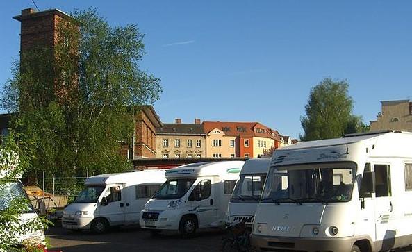 Wohnmobilstellplatz Wassersportzentrum Alte Feuerwache