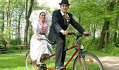 Mit dem Tamdem durch den Spreewald, Foto: pro gastra/www.spreewald.de