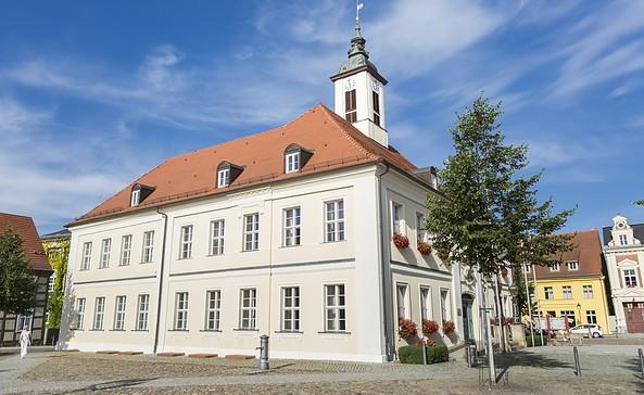 Das historische Rathaus am Markt, Foto: TMB-Fotoarchiv/Steffen Lehmann