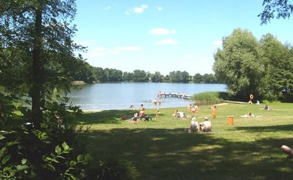 Liegewiese, Foto: Info-Punkt Lebus