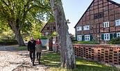 Romantische Fachwerkhäuser in Zwischendeich, Foto: Markus Tiemann