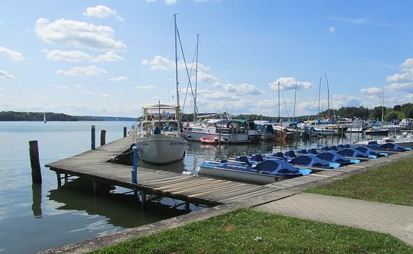 Hafen in Bad Saarow, Foto: TV-SOS