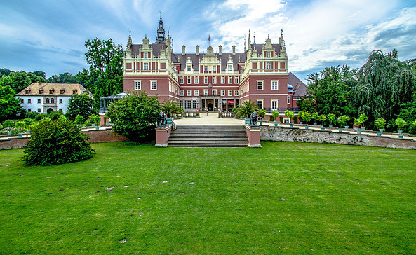 Schloss Muskauer Park, Foto: Unesco Geopark Muskauer Faltenbogen