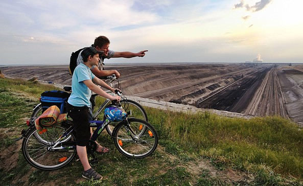 Blick in den Tagebau, Foto: Nada Quenzel
