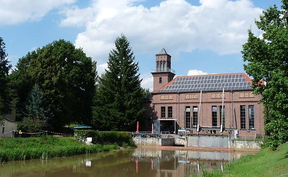 Wasserkraftwerk Grießen, Foto: Tourismusverband Niederlausitz e.V.