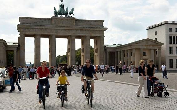 """1. Etappe """"Radweg Berlin-Usedom-Wollin-Stettin"""": Berlin - Biesenthal"""