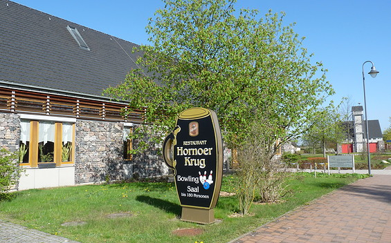 Gaststätte Hornoer Krug und Bowlingbahn
