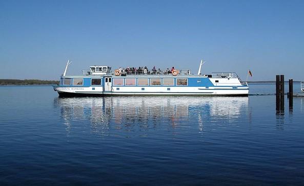 Fahrgastschiff Santa Barbara, Foto: Reederei Löwa