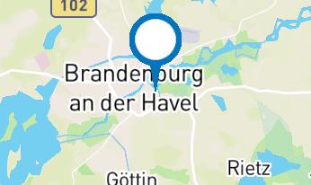 Totes Meer Salzgrotte Brandenburg