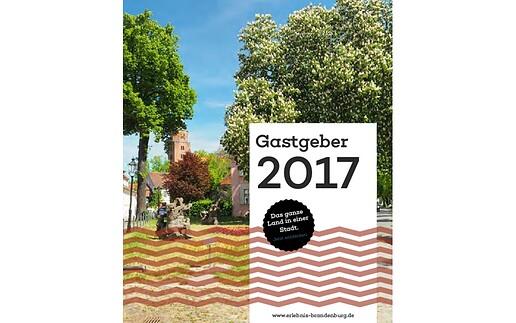 Reiseheft der Stadt Brandenburg an der Havel 2017