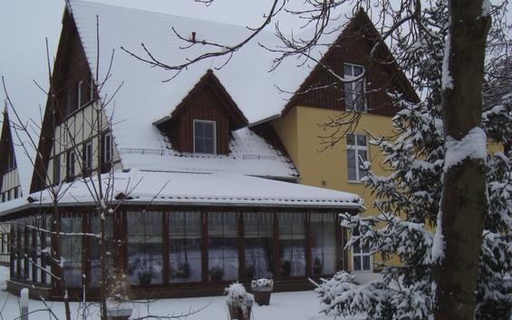 """""""Winterlicher Spreewald-Traum"""" (Premiumzimmer) Winterliches Brandenburg"""