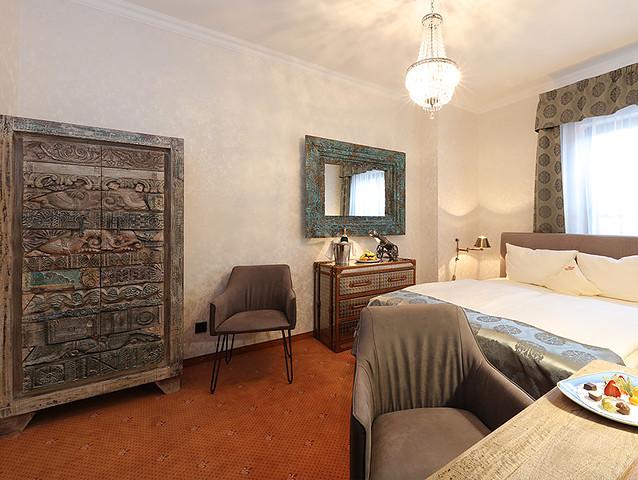 Zimmerbeispiel im Lakeside Burghotel zu Strausberg