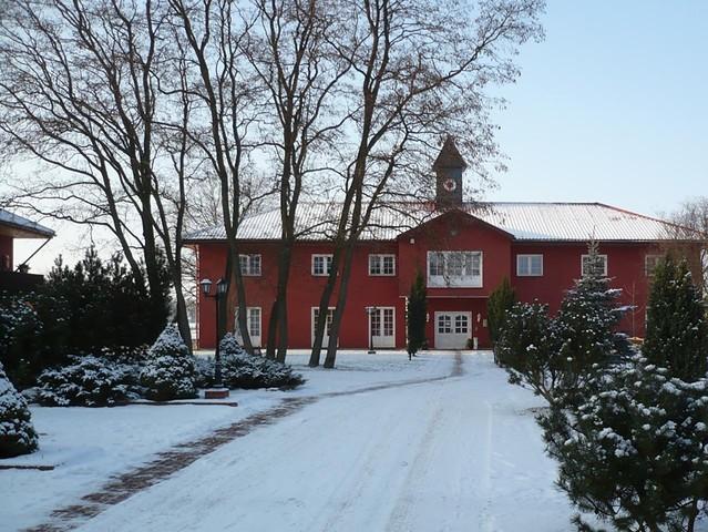 Wellness- und Kurhotel Legde im Winter