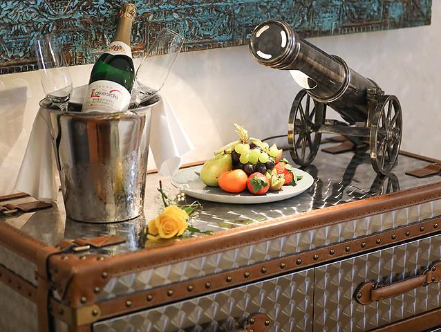 Empfang auf dem Zimmer im Lakeside Burghotel zu Strausberg