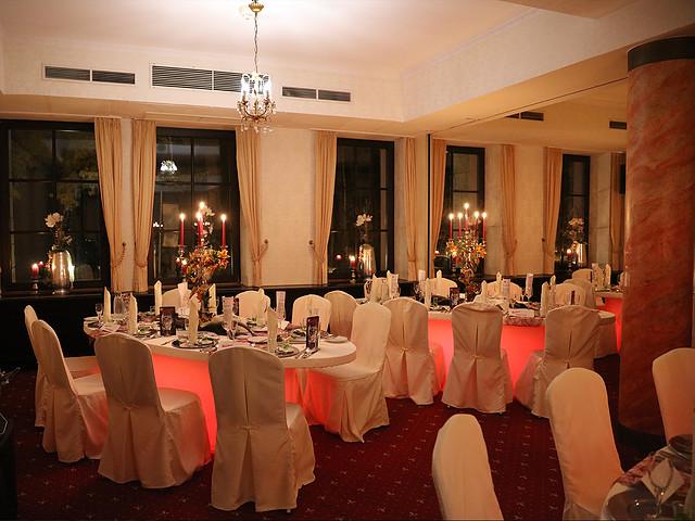 Veranstaltungssaal im Lakeside Burghotel zu Strausberg