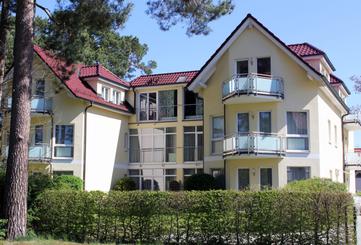 Apartments an der SaarowTherme (Typ4, ca. 70m², 2-6 P., 2 Schlafräume)