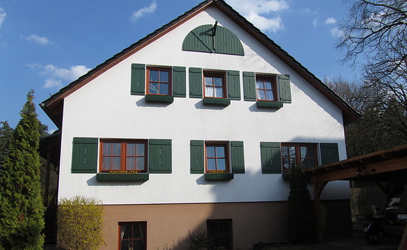 Außenansicht Forsthaus Fichtenau